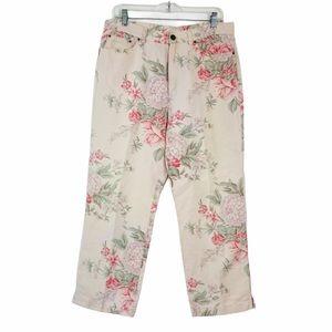 Ralph Lauren vintage floral cottagecore pants.12